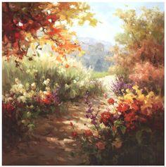 Framed Colors of Summer Print