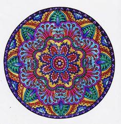 colored mandalas - Google Search