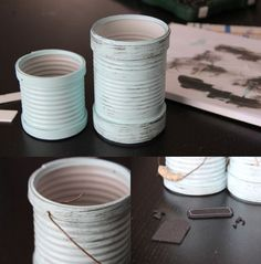 Como Reaproveitar Latas de Leite Condensado | Reciclagem no Meio Ambiente