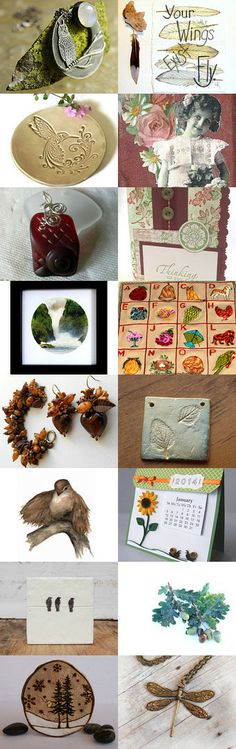 A Touch of Nature by Vicky on Etsy--Pinned with TreasuryPin.com