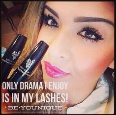 Younique's 3D Fiber Lashes - no falsies - no glue! It's quick and easy to apply, goes on just like mascara! Get yours click picture