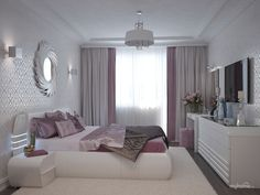Beds from Covet House offers a curated selection of design pieces, in a wide range of styles. More than 20 products and ideas. Purple Bedroom Decor, Bedroom Colors, Home Decor Bedroom, Modern Bedroom, Home Room Design, Living Room Designs, Bedroom Storage Inspiration, Living Room Decor Cozy, Dream Rooms
