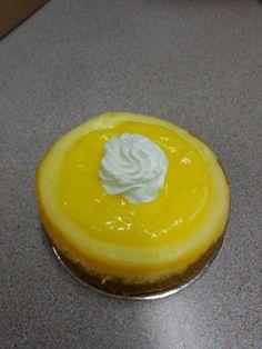4 inch Lemon Cheesecake