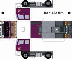 Vehiculos Papel On Pinterest Paper Toys Paper Models