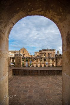 Window to Noto by Barak Shacked on Italy Vacation, Italy Travel, Noto Sicily, City Buildings, Holiday Destinations, Perfect Place, Places To Go, Windows, Mansions
