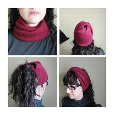 """This is a pattern recipe for a snug and stretchy twisted turtleneck cowl. It is more in the vein of """"general directions with tips and ideas—knit it how you like to get what you want"""" rather than in the vein of """"do exactly this to get exactly that""""."""