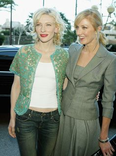 Joely Richardson Cate Blanchett Photos - Actresses Cate Blanchett (L) and Joely Richardson pose at the Annual 'BAFTA/LA Tea Party' at Park Hyatt Los Angeles Hotel on January 2005 in Los Angeles, California. - The Annual Bafta/LA Tea Party-Arrivals Timeless Beauty, Classic Beauty, Joely Richardson, Melanie Laurent, Vanessa Redgrave, Golden Globes After Party, Blonde Actresses, Female Fighter, Drama Queens