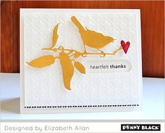 Download complete supplies and instructions on our blog for this project featuring Penny Black Creative Dies and stamps.
