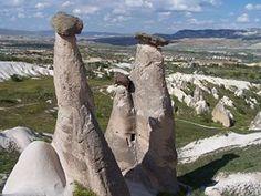 Fairy chimneys in Goreme, Turkey