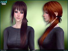 Rocha hair by Anto at TSR via Sims 4 Updates