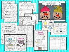 Mrs Jump's class: Sneezy the Snowman and Freebie