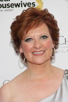 Caroline Manzo-Short Celebrity Hairstyles for Women Over 50