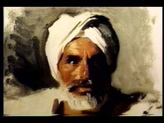 The Portrait Institute   John Singer Sargent's Head of an Arab - YouTube