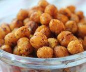 Roasted Tumeric Chickpeas