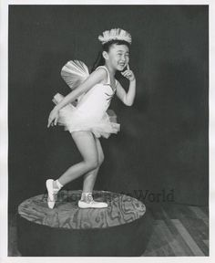 This is an original vintage photograph. Not a modern reproduction.Origin: USASize: 8 by 10 inchesAge: Asian Kids, Cute Asian Girls, Vintage Photographs, Vintage Photos, Butterfly Costume, Ballet Kids, Vintage Ballet, Ballet Photos, Child Face