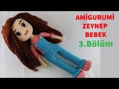 Amigurumi Zeynep Baby Making 3 (Fuß) (Gül Hanım) - Amigurumi Crochet Patterns Amigurumi, Amigurumi Doll, Crochet Dolls, Free Crochet, Crochet Baby, Doll Videos, Knitting Videos, Baby Makes, Stuffed Animal Patterns