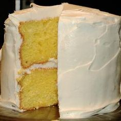 lemon cake recipe :: trust me, you'll want a second piece.