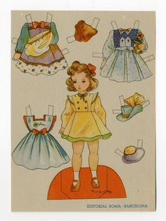 78.2627: paper doll | Paper Dolls | Dolls | Online Collections | The Strong