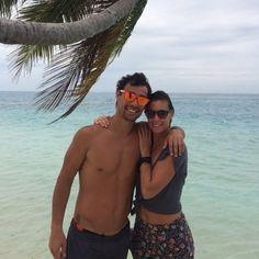 Casal formado pelos tenistas italianos Fabio Fognini e Flavia Pennetta - Tênis - UOL Esporte