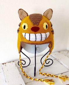 Catbus hat totoro hat