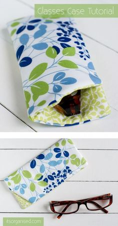 DIY Tutorial DIY Bag Sunglasses Case / DIY Sew a Lined Glasses Case in an hour - Bead&Cord