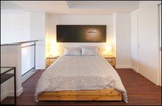 Space Lofts, Toronto - Photos Loft Bedrooms, Concrete Ceiling, Toronto Photos, Steam Room, Floor To Ceiling Windows, Guest Suite, Lofts, Lockers, Flooring