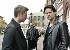 """""""Pale Fire"""" - Pictured (L-R): Devon Sawa as Owen and Shane West as Michael in NIKITA on The CW. Photo: Ben Mark Holzberg/The CW©2011 The CW Network, LLC. All Rights Reserved."""
