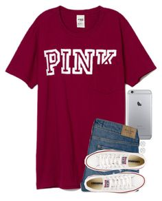 """School tomorrow "" by meljordrum ❤ liked on Polyvore featuring Abercrombie & Fitch, Converse and Allurez"