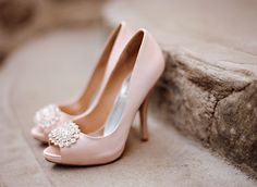 Badgley Mischka Pink Shoes for wedding