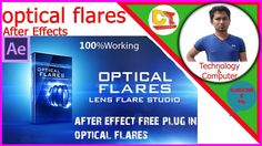 how to download and install🍀optical flares🍀after effects cc 2017