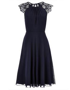 Bluebell Short Dress | Navy | Monsoon £99.00