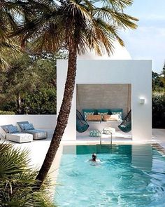 WEBSTA @ adesignersmind - Fancy a dip? #swimmingpooldreaming #homedesign #lifestyle #style #designporn #interiors #decorating #interiordesign #interiordecor #architecture #landscapedesign