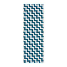 Gunnel Rug, Deep Blue $304. - RoyalDesign.com