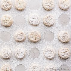 Powdered Sugar Cookies Photograph, Food Photography, Photo Print, Large Wall Art, Kitchen Decor, Home Decor, Dining Room Decor, Bakery Decor by AmyRothPhoto on Etsy https://www.etsy.com/listing/188157854/powdered-sugar-cookies-photograph-food