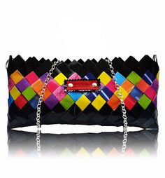 The Vibrant Neon and Black Purse - Selected Bags Austria Black Purses, Vibrant, Neon, Shoulder Bag, Bags, Fashion, Handbags, Scale Model, Colors