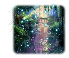 """Fairy Fido"" by fairieprincessgoddess ❤ liked on Polyvore featuring art"