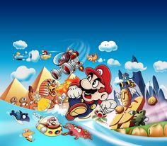 GB Tribute: Super Mario Land by *MarcShort on deviantART