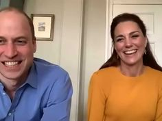William and Kate video chat with teachers and pupils at a school in Lancashire - Kate Middleton Style Kate Middleton Et William, Looks Kate Middleton, Princess Kate Middleton, Prince William And Catherine, William Kate, Duchess Of Cornwall, Duchess Of Cambridge, Meghan Markle, Kate Video