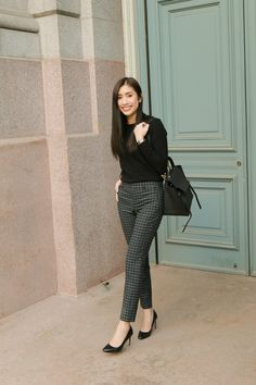 Boss lady outfit and lifestyle. Casual Work Outfits, Business Casual Outfits, Office Outfits, Work Attire, Classy Outfits, Business Attire, Outfit Work, Business Chic, Office Attire