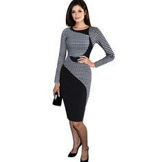 2016-Plus-Size-Dress-For-Ladies-Church-Dresses-Big-Size-Women-Long-Sleeve-Elegant-Dress-Large.jpg (750×750)