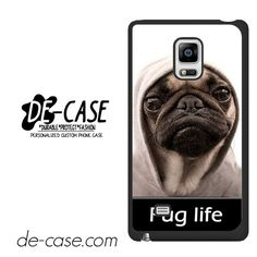 New Design Funny Hilarious Pug Life Parody Fans DEAL-7647 Samsung Phonecase Cover For Samsung Galaxy Note Edge