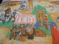 Prestine Vintage Star Wars sheet Collectible by SouvenirAndSalvage