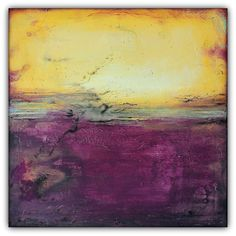 Purple and Gold Abstract Art – Majestic Wall Art – Modern Square Painting Be Sure To Visit: http://universalthroughput.imobileappsys.com/