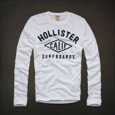 Hollister Long Sleeve Shirts | New Men Hollister by Abercrombie Long Sleeve T Shirt Size s Small ...