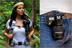 """The """"Capture Camera Clip"""" by Peak Design, is another successful product launched by a kickstarter campaign. The handy aluminum clip allows you to rigidly hold your camera to any backpack strap or belt. This eliminates the need for a neck strap, sling, holster or bulky camera bag, and keeps your camera quickly accessible allowing you to be physically active without it swinging and swaying."""