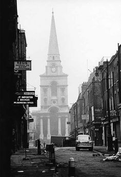 David Bailey: Christ Church at Spitalfields  London