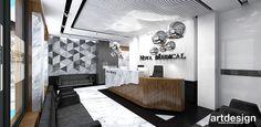 NOVA MEDICAL | Projekty wnętrz recepcji