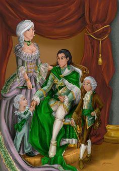 Royal Family portrait by missarsenia.deviantart.com on @deviantART