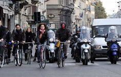 In aumento il numero degli incidenti causati dai ciclisti