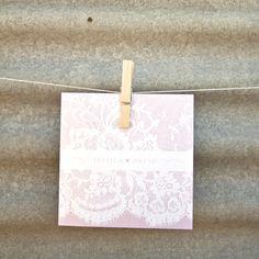 Lace Couture Invitation